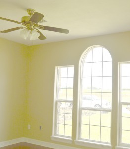 A look inside a front bedroom of a spec home at 2732 Terrace Ave., Groves.