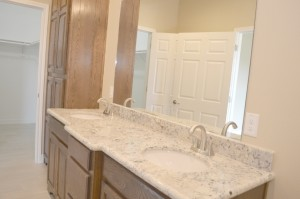The master bath of a spec home at 2732 Terrace Ave., Groves.