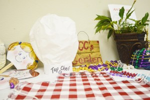 In addition to experimenting with porcelain clay, paper mache, freeform concrete and painting, children registered in the Texas Artists Museum's annual Art Smart camp in Port Arthur will create their own aprons and chef hats to wear while they make their own snacks.