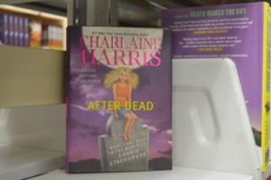 A sought after book by Charlaine Harris.