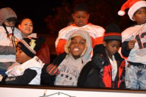 A scene from Port Arthur's Annual Cultural Lighted Christmas Parade on Procter Street on Friday. Mary Meaux/The News